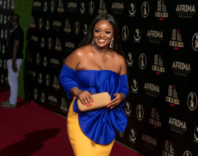 Jackie Appiah slaying the red carpet at the 5thAfrima