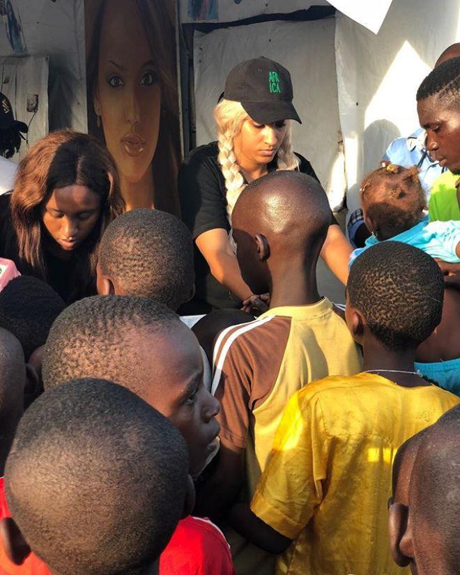 Juliet Ibrahim feeds 5,000 street kids