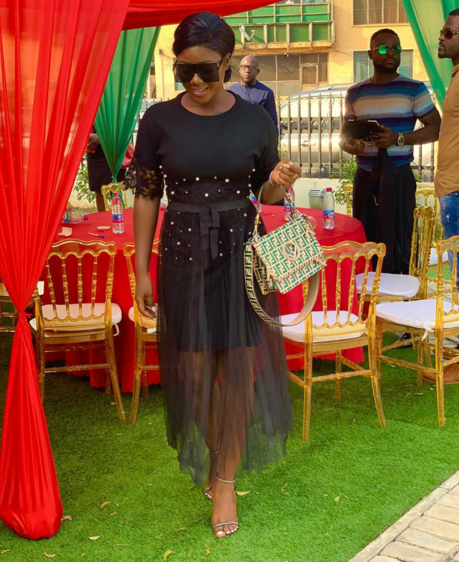 Salma Mumin was style goals with this look