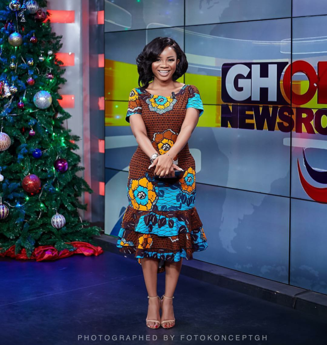Serwaa Amihere served gorgeous African print style inspiration