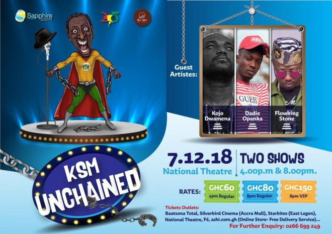 KSM Unchained poster