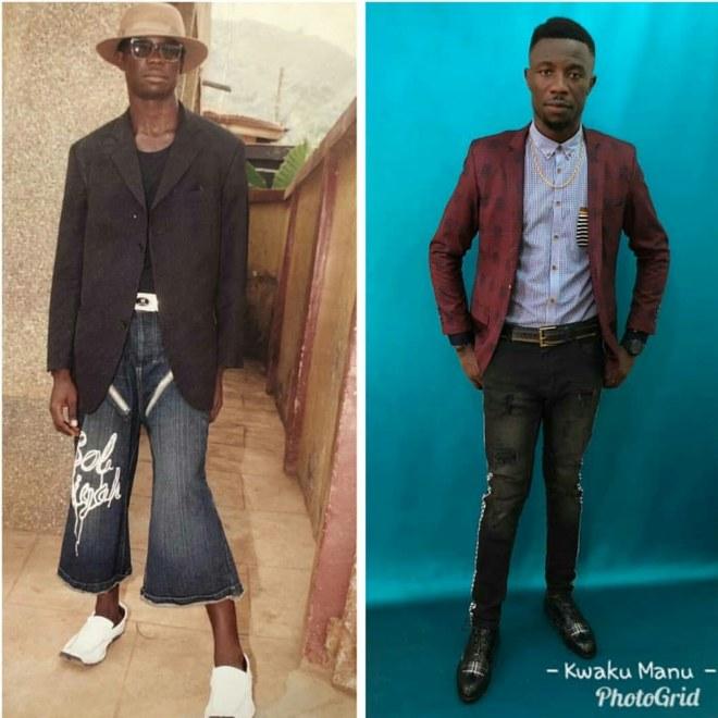 Kwaku Manu 10 year challenge