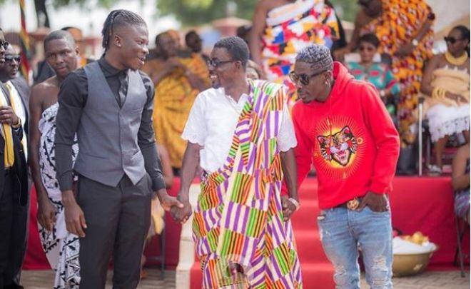 Stonebwoy, Nana Appiah Mensah and Shatta Wale