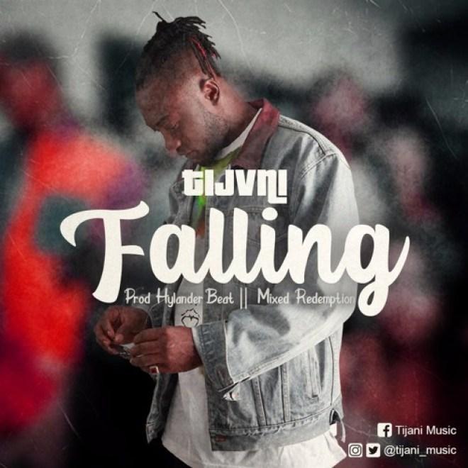 "Tijvni's ""Falling"" cover artwork"
