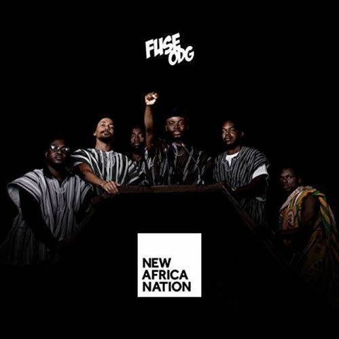 Fuse ODG's New Africa Nation album artwork