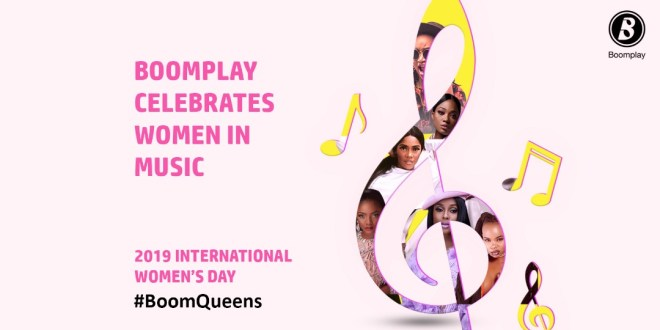 "Boomplay marks International Women's Day with ""Boom Queens"" playlist"