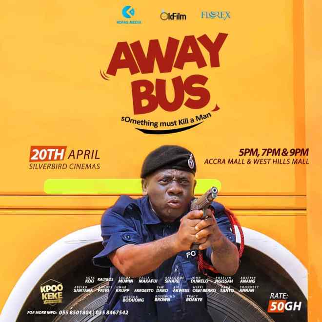 Away Bus movie poster
