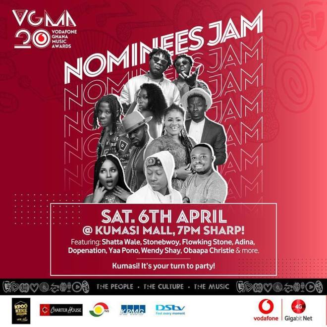 VGMA 2019 nominess jam banner