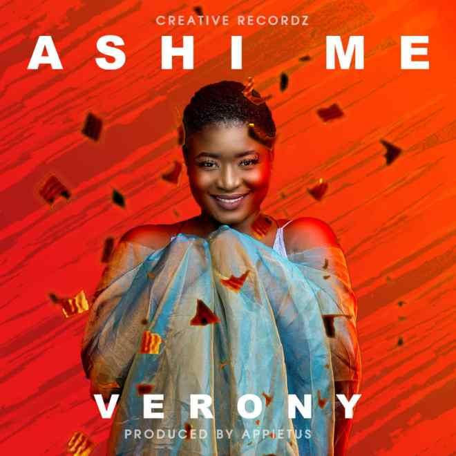 "Verony's ""Ashi Mi"" cover artwork"