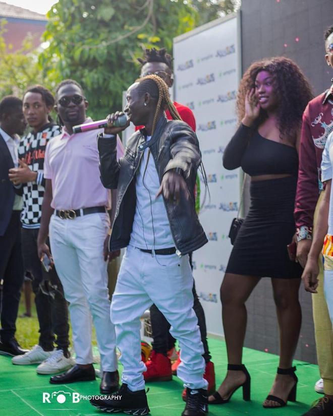 Patapaa at Ghana Meets Naija launch