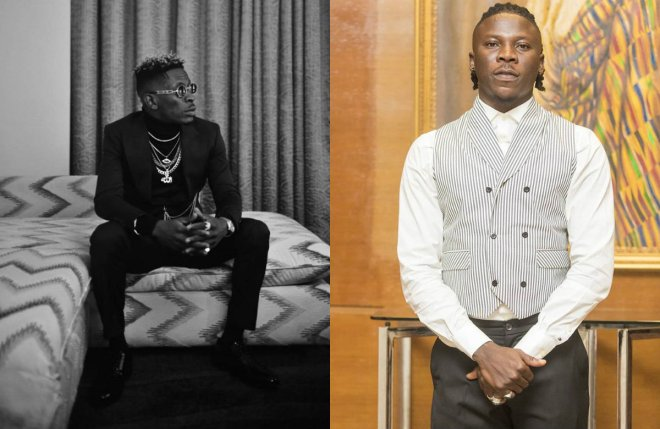 Shatta Wale and Stonebwoy behind bars