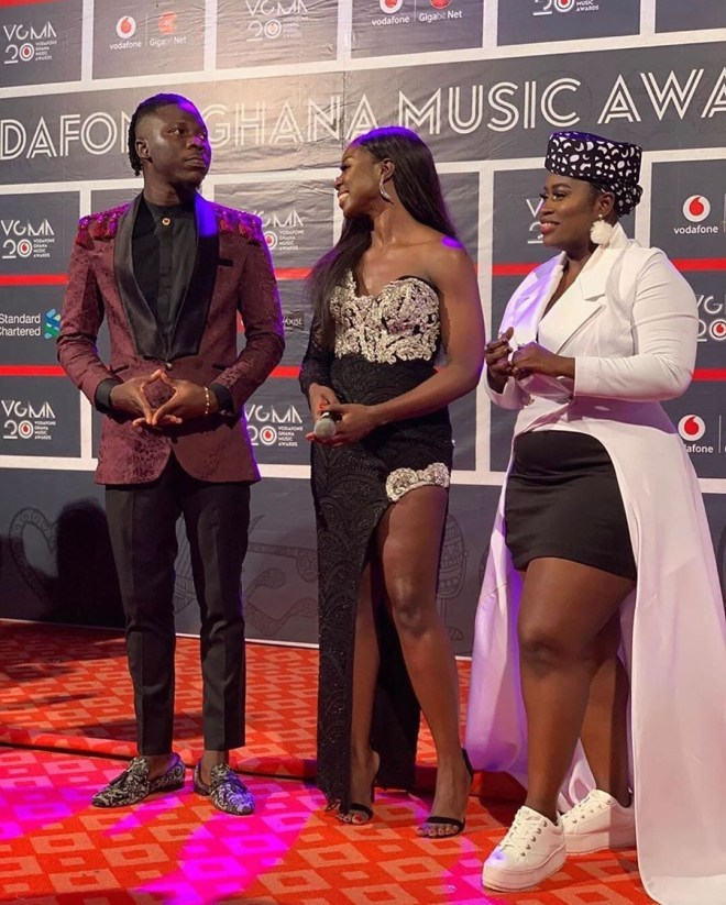 Vgma20 John Dumelo Kwesi Arthur Akuapem Poloo King Promise Others Rock The Red Carpet Ghanafuo Com
