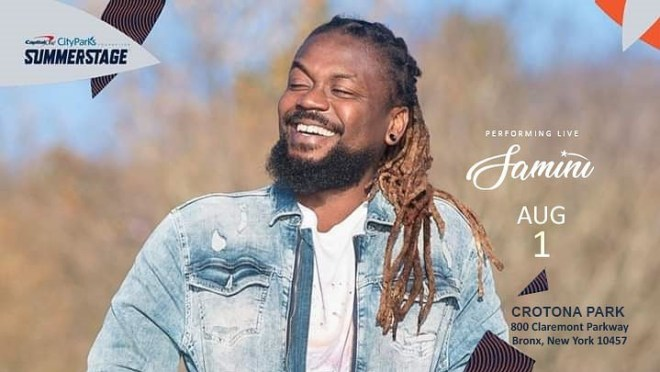 Samini to perform at SummerStage concert