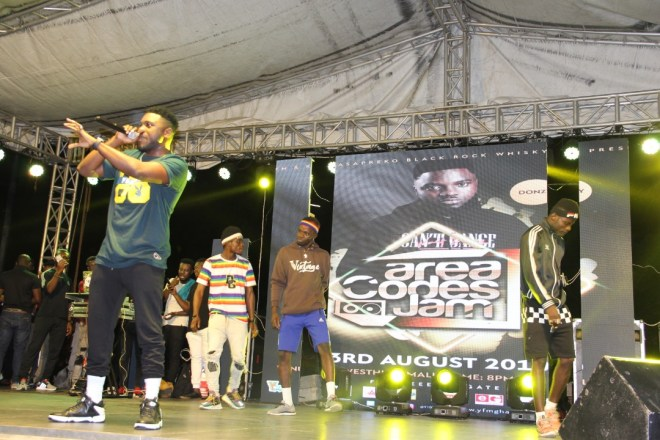 Donzy at Area Code jam