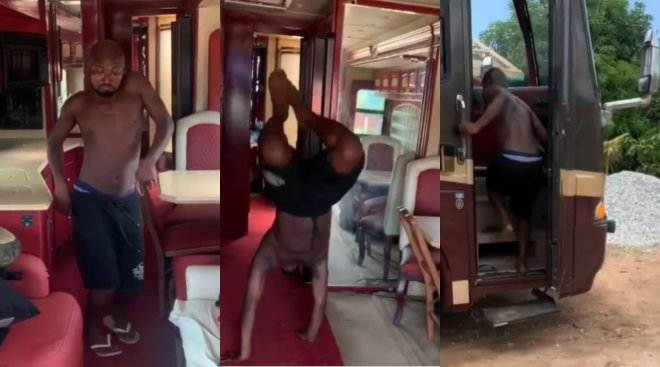 Funny Face acquires luxury tour bus, gives tour of the inside