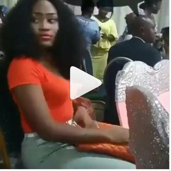 Slay Queen caught stealing drinks at a party