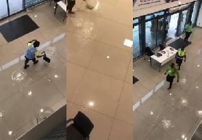 KIA terminal 3 floods after Monday rains