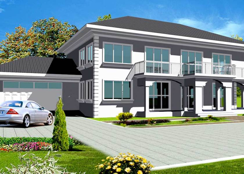 House Plans Online for African   Instant PDF Download House Plans Online