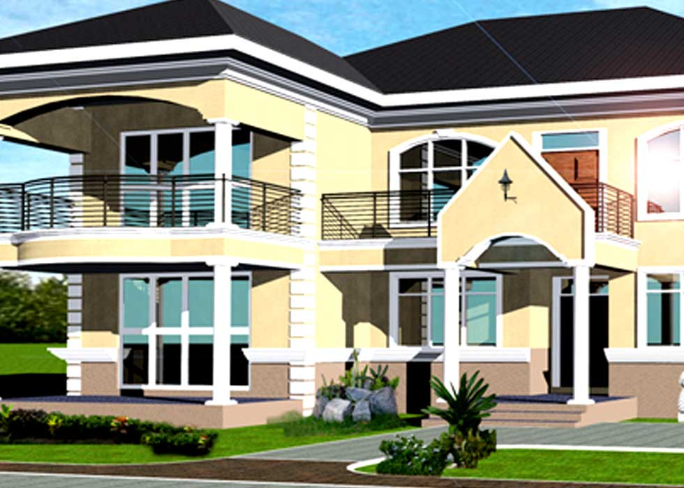 Luxury House Plans for Ghana  Nigeria  Zimbabwe   All Africa Luxury House Plans