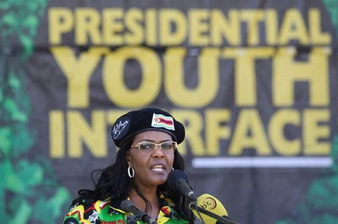 Manhunt launched for Grace Mugabe booing 'ringleader'