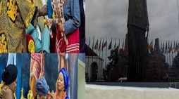 Liberia's Sirleaf honoured with statue in Nigeria next to that of Zuma