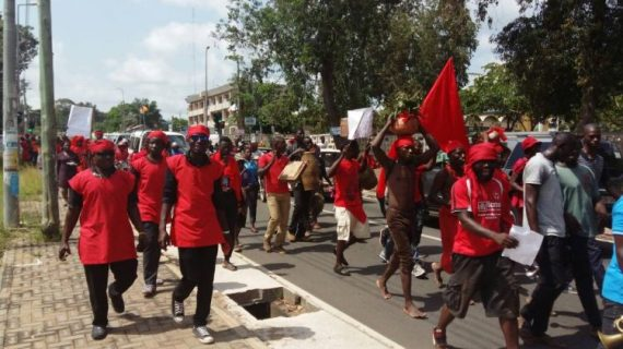 Voltarians demonstrate against Government over hardship