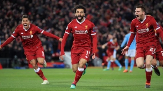 UEFA CL: Liverpool put one foot into semi-finals