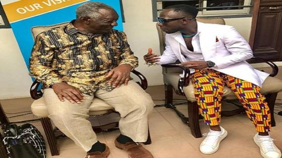 Okyeame Kwame Promises to Raise ¢1Million to Support the 'John Agyekum Kufour' Foundation