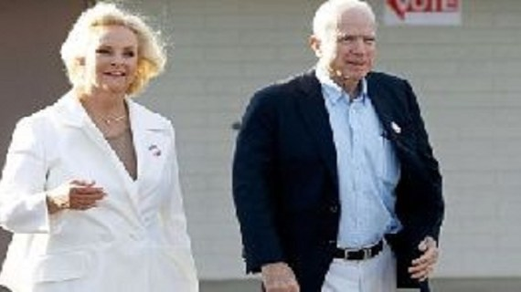 John McCain's family hits out at Trump aide for 'mocking' his cancer