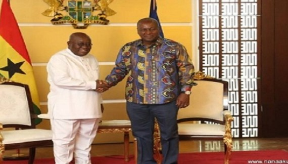 Mahama 'exposes' Akufo-Addo on GHOST Projects