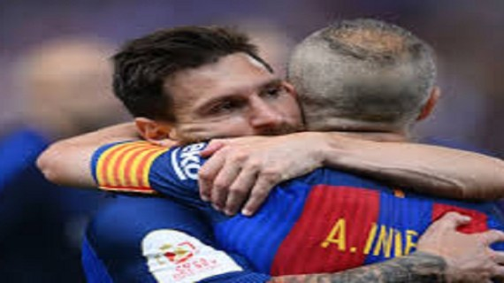 Barcelona holds special farewell for Iniesta