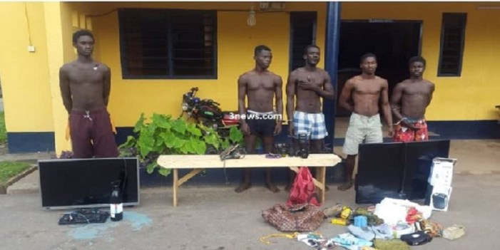 Three most wanted thieves in Kwesimintim, two others arrested