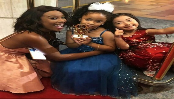 TALENTED 5YRS OLD GHANAIAN-SWISS ACTRESS WON AWARD IN HOLLYWOOD