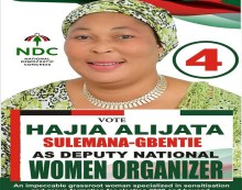 Hajia Alijata Gets Massive Endorsement from Delegates