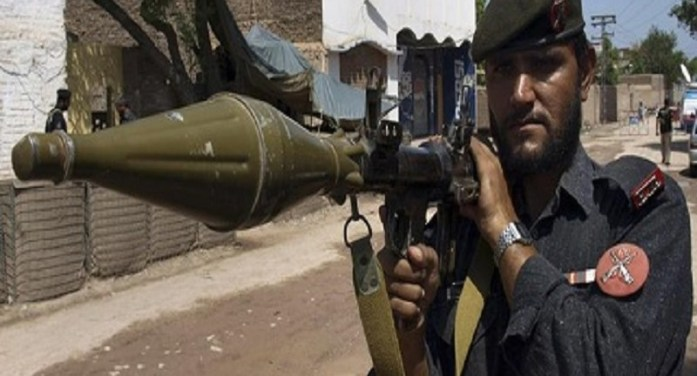 Six security officials killed in attack in southwest Pakistan
