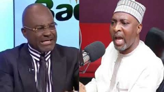 Ken Agyapong, Muntaka in near-brawl at Parliament