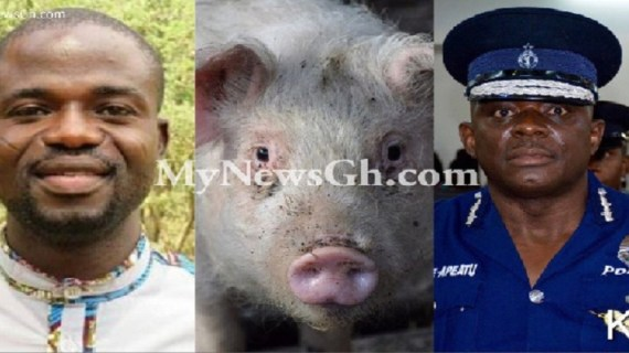 You're an 'impotent pig', a 'useless political puppet' – Manasseh attacks IGP Asante-Apeatu