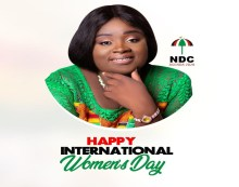 Anyaa Sowutuom NDC Parliamentary Aspirant Wishes Women Well …on international Women's Day