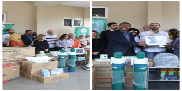 Korle-Bu Child Cancer Centre Receives Medical Equipment