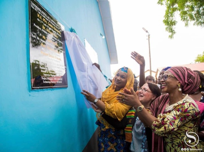 HAF, FYF, Second Lady commissions YMLab 4 Project