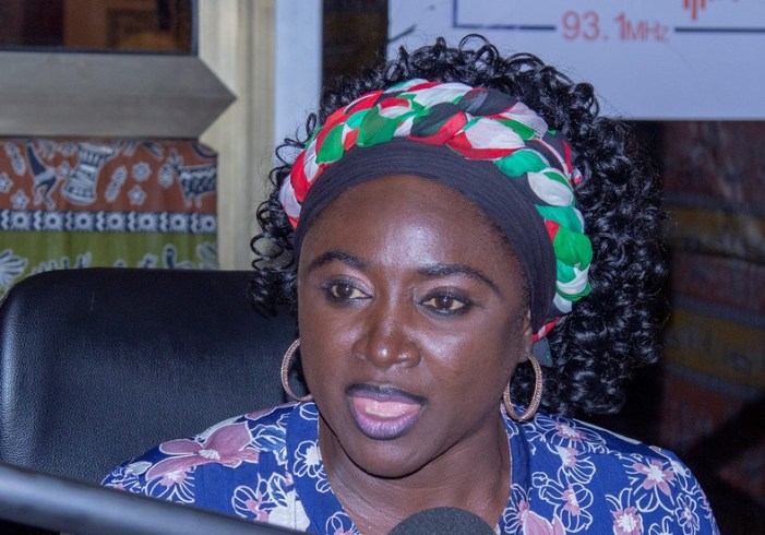 Dr. Hanna Bissiw Schools Akufo Addo on Gender Issues