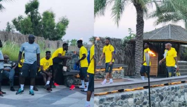 Girlfriends of Black Stars players besieged camp in a shocking sexual rendezvous
