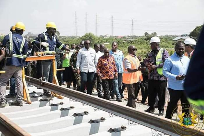 Tema-Mpakadan Railway Line to be Completed in August 2020-Says Railways Minister.