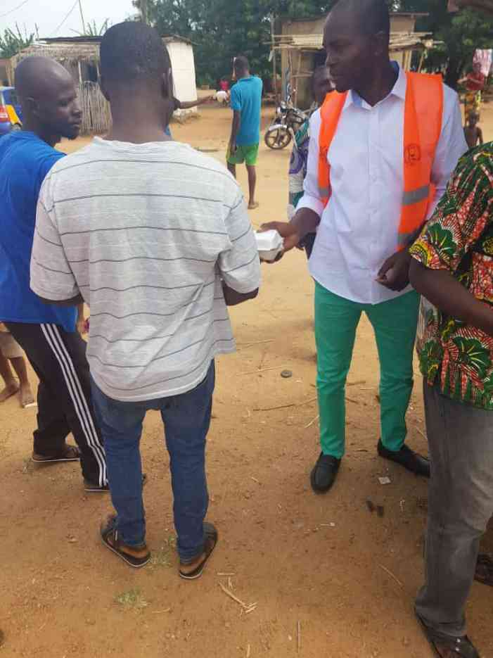 NPP Domeabra Obom PC nearly lynched by Constituents over 'malnourished' food
