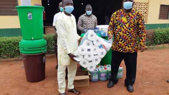 Dagbon Forum donates to Hospitals, Palaces in Dagon