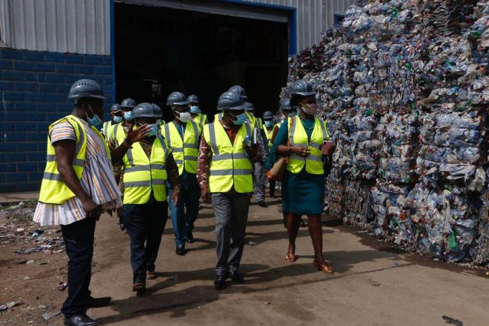 Coordinating Directors Familiarise With Zoomlion's Waste Plants And Urge Gov't To Support Company