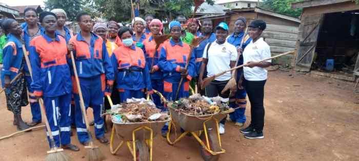 Ahafo Region: Asunafo South Naspa Cleans District Capital Kukuom