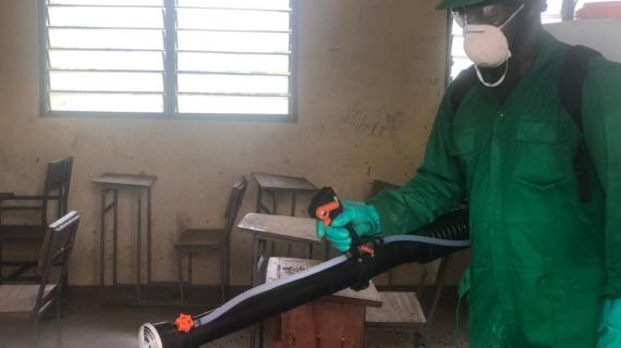 NER:Phase III Disinfection In Schools: Assemblyman Lauds Govt, Zoomlion