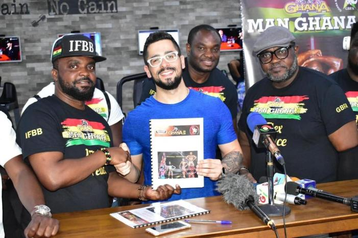 California Fitness Gym To Support Man Ghana And Black Muscles