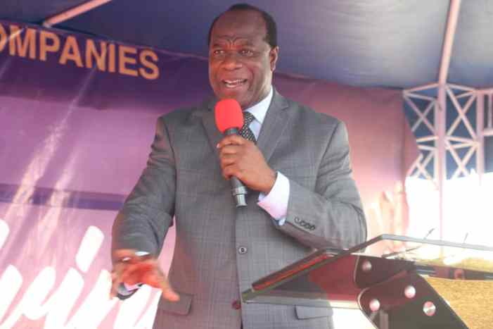 """""""Don't alienate God from Society"""" -Apostle Dr. Alfred Koduah"""